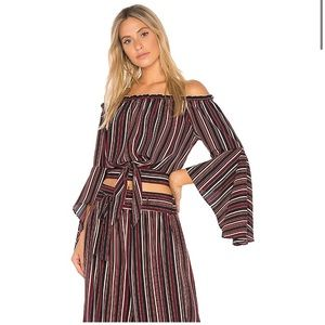 Band of Gypsies off the shoulder top